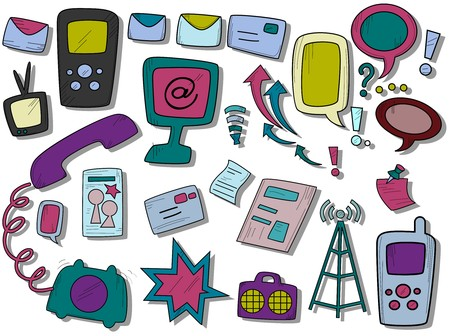 Communication Icons  photo