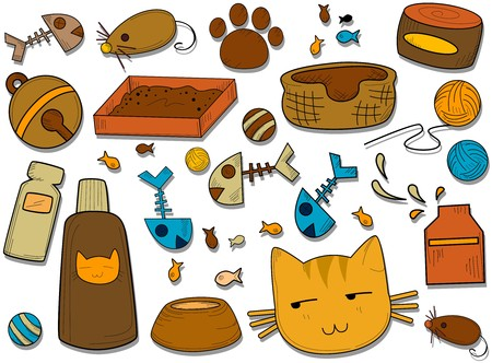 cat grooming: Cat Icons