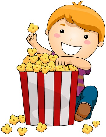 popcorn: Boy with Popcorn