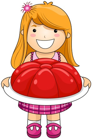 gelatin: Girl with Jelly