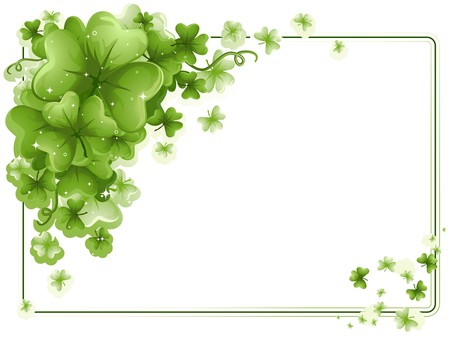threeleaf: St Patrick Frame