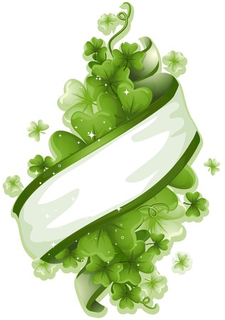 St Patrick Ribbon Stock Photo - 7110518
