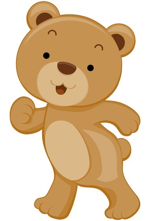 oso caricatura: Cute Bear