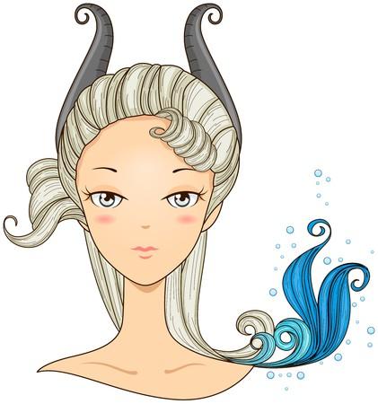Capricorn Girl  photo