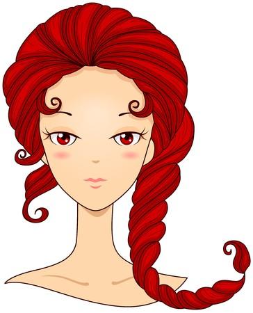 scorpio: Scorpio Girl Stock Photo