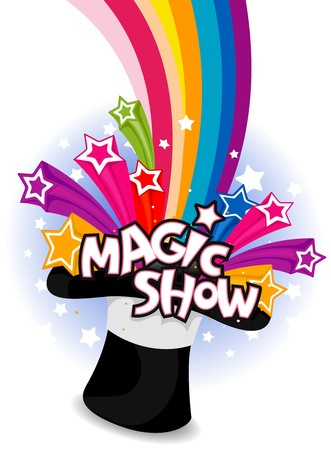 Magic Show Flyer Design  photo
