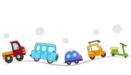 Cartoon veicoli