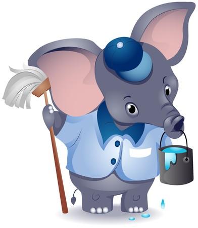 janitor: Elephant Janitor