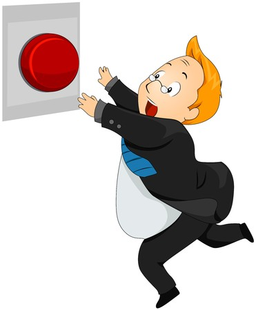 panic button: Uomo in esecuzione a Panic Button