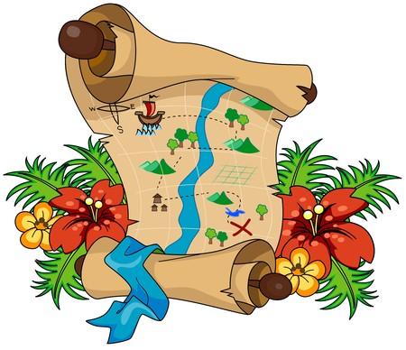 carte tr�sor: Plan du Tr�sor