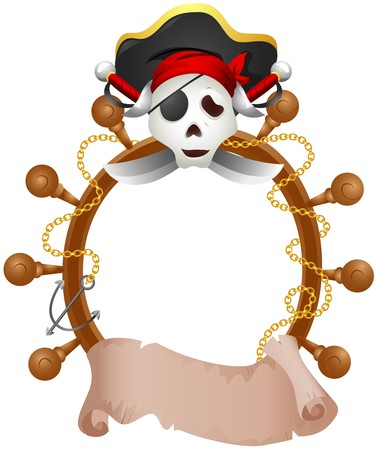 pirate hat: Pirate Themed Frame