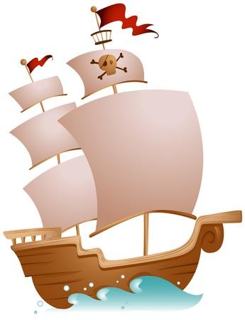 barco pirata: Barco pirata