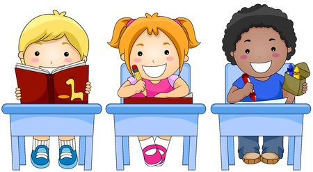 writing activity: Children in Class