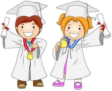 toga: Graduados de los ni�os