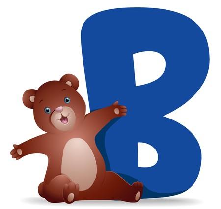 B for Bear   photo
