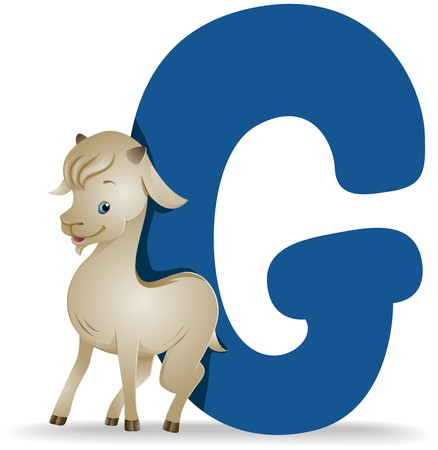 G for Goat   Stock Photo - 7676441