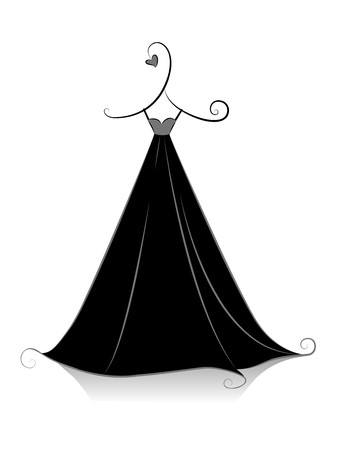 little black dress: Black and White Series: Black Dress
