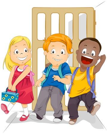 Grade schoolers  photo