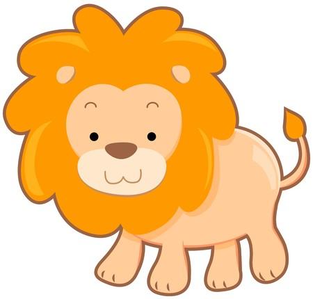 Cute Lion  photo