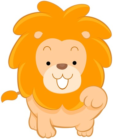 Cute Lion  photo