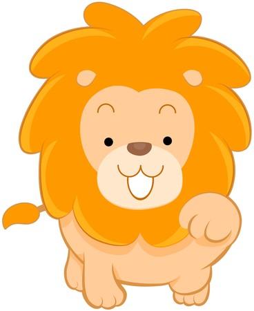 León lindo  Foto de archivo - 7765160