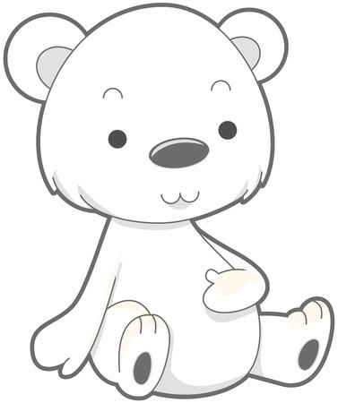 Cute Polar Bear   Stock Photo - 7765159