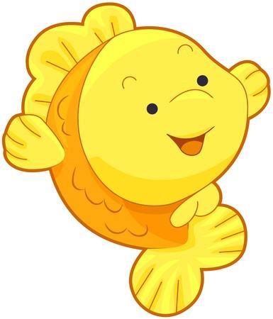 peces de colores: Linda peces de oro   Foto de archivo