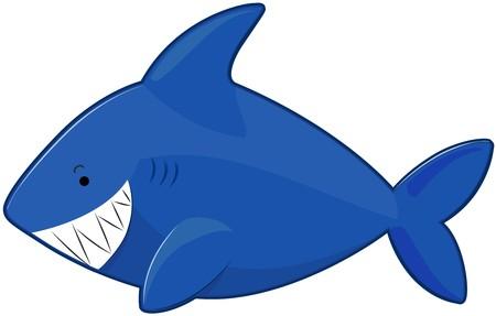Cute Shark   Standard-Bild