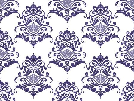 damask pattern: Seamless Damask Pattern for Background