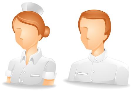 nurse cap: Nurse Avatars