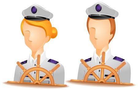 capitan de barco: Avatares de capit�n de barco