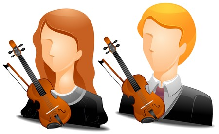 Violinist Avatars   photo