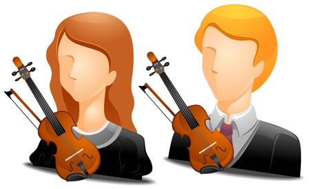 violinist: Violinist Avatars