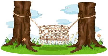 Illustration of an Empty Cradle Stock Illustration - 8329129
