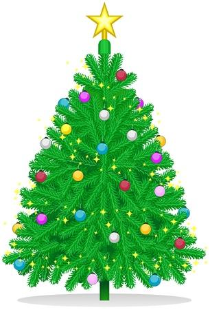 plastic christmas tree: Christmas Tree Design Featuring a Plastic Christmas Tree