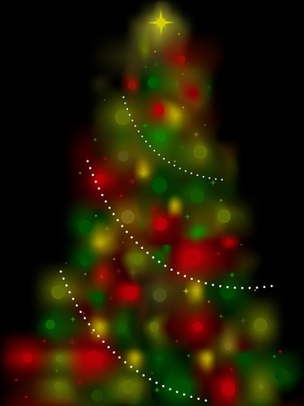 shimmery: Christmas Tree Design Featuring a Shimmery Christmas Tree