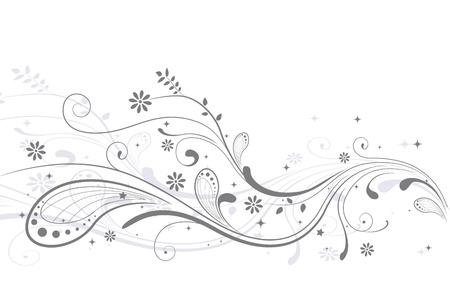 Ilustración de una invitación de boda decorada con vides