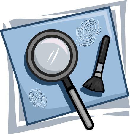Illustration of Icons Representing Investigators illustration