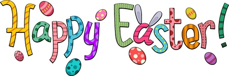 featuring: Text Featuring Easter Greetings