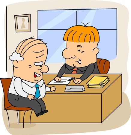 actuary: Illustration of an Actuary at Work