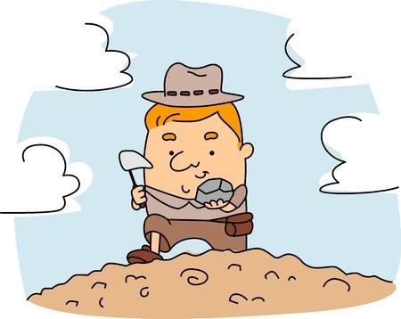 Картинки геологов для детей