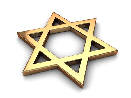 representing: 3D Illustration Representing Judaism