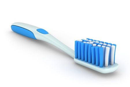 3D Illustration of a Toothbrush Stock Illustration - 11258659
