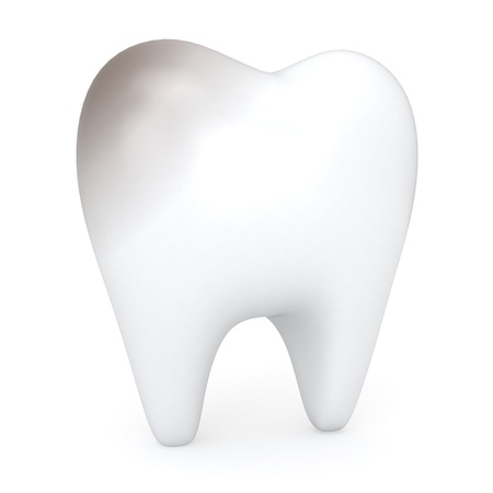 3D Illustration of an Unhealthy Tooth  illustration