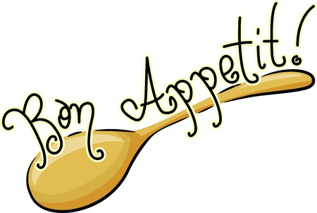 appetite: Icon Illustration of a Spoon