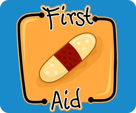 emergency response: Icon Illustration Representing First Aid