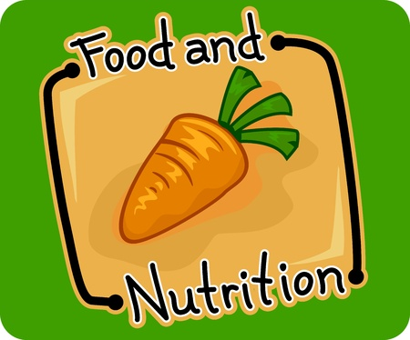 Icon Illustration Featuring Food and Nutrition Stock Illustration - 11330178