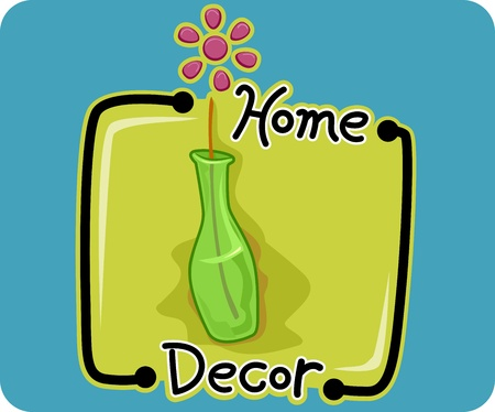 Icon Illustration Representing Home Decor illustration