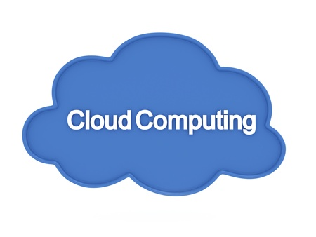 3D Illustration Representing Cloud Computing Stock Illustration - 12214913