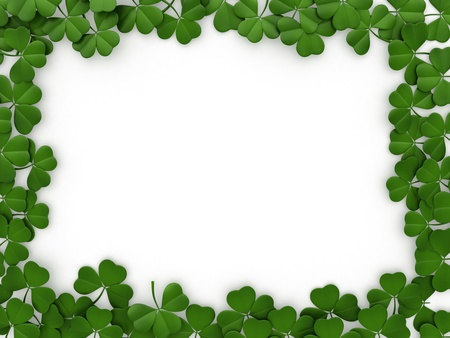 st  patricks day: 3D llustration with a St. Patricks Day Theme